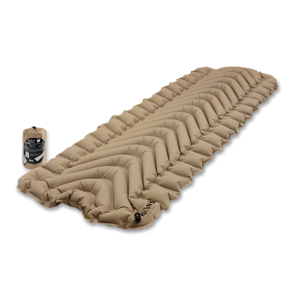 ergonomic sleeping pad